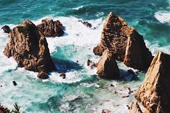 Marta Monteiro (martagpmonteiro) Tags: beach sea rocks