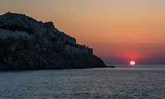 Almost Gone Sunset - Myrina Town - Limnos (Olympus OM-D EM1 II & M.Zuiko 12-40mm f2.8 Pro Zoom) (1 of 1) (markdbaynham) Tags: greece greek hellas hellenic grecia greka island greekisland lemnos limnos myrinatown gr greekholiday greektown oly olympus olympusgreece olympusomd olympusem1 em1mk2 em1ii em1 csc mirrorless microfourthird microfourthirds m43 m43rd micro43 micro43rd olympusm43 olympusmircrofourthirds mzd mz 1240mm f28 zuikolic mzuiko