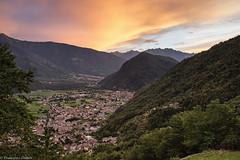 Tramonto su Ardenno (cesco.pb) Tags: valtellina lombardia lombardy italia italy tramonto sunset montagna mountains ardenno canon canoneos60d tamronsp1750mmf28xrdiiivcld