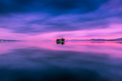 sunset 6472 (junjiaoyama) Tags: japan sunset sky light cloud weather landscape pink blue contrast color bright lake island water nature autumn fall calm dusk serene reflection bluehour