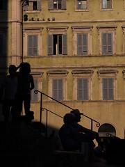 fin d'après midi à Pérouse (objet introuvable) Tags: colors couleurs pérouse italie italy contrejour light shadow lumière ombres silhouette window fenêtre ville town urban urbanlife stairs escalier vacances holidays lumixgx8 contrast contraste