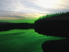 . (Lauri S Laurén) Tags: art green dark evening pilvijärvi scenery lake järvi artphoto photoart straightoutofthecamera sooc reflection suomi finland sipoo sibbo laurilaurén contemporaryart contemporary outsiderartist nature vihreä