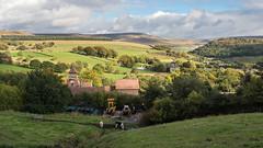 Laneside Farm (Maria-H) Tags: farm hills glossop highpeak derbyshire pennines olympus omdem1markii panasonic 1235