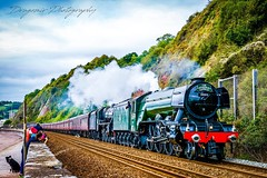 The Flying Scotsman (DragomirPhotography) Tags: uktrain flyingscotsman steamtrain train