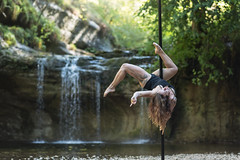 (dimitryroulland) Tags: nikon d750 85mm 18 dimitryroulland poledance pole dance dancer poledancer performer art artist nature natural light jura cascades cascade montagnes