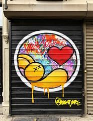 Plushie Love by Adam Dare (wiredforlego) Tags: graffiti mural streetart urbanart aerosolart publicart eastvillage manhattan newyork nyc adamdare shutter