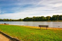 Enjoying the Illinois (kendoman26) Tags: hbm happybenchmonday aurorahdr aurorahdr2019 illinoisriver bench strattonstatepark nikon nikond7100 tokinaatx1228prodx tokina tokina1228