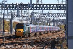 Swindon, Wiltshire (finnyus) Tags: swindon fgw firstgreatwestern greatwesternrailway gwr hst hst125 highspeedtrain dieselpoweredhighspeedtrain intercity intercity125 britishrailintercity125 1a12 0748paigntontolondonpaddington