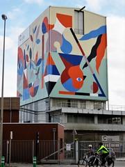 Hello Coll. / Bruxelles - 12 okt 2018 (Ferdinand 'Ferre' Feys) Tags: bxl brussels bruxelles brussel belgium belgique belgië streetart artdelarue graffitiart graffiti graff urbanart urbanarte arteurbano ferdinandfeys hellomonsters