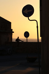 (atomareaufruestung) Tags: alghero sardinia street streetphotography urban signs italy vacation canon citylife outside lines sign centre urbanphotography enjoying watching 70200mm man silhouette sunset canoneos7dmarkii canon7dmarkii 7dmarkii eos7dmarkii 70200mmf28lii ef70200mmf28lisiiusm 70200 ef70200mmii ef70200mmf28lisii ef70200mm