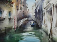 Venice By Ilya Ibryaev, Watercolor Paintings (katalaynet) Tags: follow happy me fun photooftheday beautiful love friends