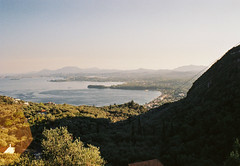 Corfu, Greece 2018 (Designer • Photographer • Cyclist) Tags: kodak film kodakfilm 35mm filmphotography 35mmfilm corfu kerkyra kerkira greece summer chill summertime sunset nature landscape sea boat yachting sailing mountains calm stunning island morning sunrise palms seaside town water jumping panoramic girls portrait
