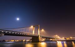 Pont Routier Gustave Toursier (Alain@BlueSunset) Tags: pont bridge water eau fleuve river stream moon mars lune night nuit ville city tournonsurrhone tainlhermitage drôme ardèche rhône