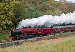 201810 6233 Irwell Vale (Gedblofeld) Tags: eastlancsrailway 6233 duchessofsutherland irwell vale