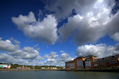 Clouds over Preston Docks (Tony Worrall) Tags: preston lancs lancashire city welovethenorth nw northwest north update place location uk england visit area attraction open stream tour country item greatbritain britain english british gb capture buy stock sell sale outside outdoors caught photo shoot shot picture captured ilobsterit instragram ashtononribble ashton wet water weather clouds cloudy fluffy prestondocks prestonmarina docks marina waterside