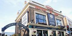 """""""The Express Tavern"""" Brentford. London (standhisround) Tags: wednesdaywalls westlondon publichouse pub tavern inn brentford london england uk victorian kew theexpresstavern architecture building signs hww walls bricks"""