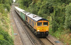 66776 New Eltham (localet63) Tags: class66 gbrailfreight 66776 neweltham 5x89 unitdrag southeastern class465 465239 emptystockmovement