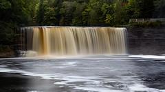 Fall Is Coming (MacDonald_Photo) Tags: jamieamacdonald sl33stak zd lightroom oly olympus zuiko eatonrapids michigan getolympus omd omdem1mkii μ43photography μ43 em1mkii omdem1markii 40150mmf28 40150mm mzuiko40150mmf28pro tahquamenonfalls waterfall upperpeninsula autumn