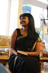 Tanwi (olive witch) Tags: 2015 aug15 august booklaunch bookstore fem indoors night nyc