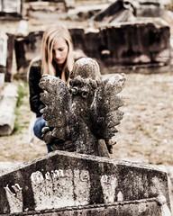 Memories (Kendar Creatives) Tags: rookwood cemetery death dark bleaky sydney australia