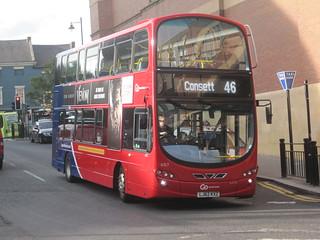 Go North East 6157 (LJ62 KXZ). Eldon Square Bus Station, Newcastle