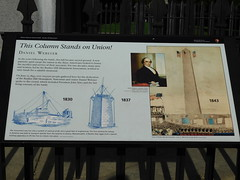 Bunker Hill Dedication Sign (jimmywayne) Tags: middlesexcounty bunkerhill charlestown historic monument bostonnationalhistoricalpark