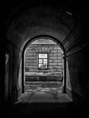 The arch (pilot3ddd) Tags: stpetersburg arch blackwhite monochrome window oldarchitecture olympusomdem5markii olympusmzuiko1240mmf28pro