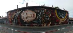 Khoma, ChemiS, Dael, Wild / Praha - 27 sep 2018 (Ferdinand 'Ferre' Feys) Tags: praha prague praag tsjechië czechrepublic czesko streetart artdelarue graffitiart graffiti graff urbanart urbanarte arteurbano ferdinandfeys