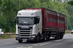 FM18 LFT (Martin's Online Photography) Tags: scania s500 nextgeneration truck wagon lorry vehicle freight show commercial transport a580 everthorpe eastyorkshire nikon nikond7200