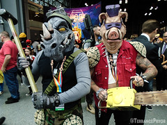 DSC03117_edited (Terrancepryor) Tags: nycc newyorkcomiccon newyorkcomiccon2018 nycc2018 cosplay nyc cosplayer bebop rocksteady tmnt teenage mutant ninja turtles