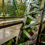 Old Bridge over the Cohocton River in Painted Post, NY thumbnail