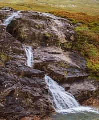 Glencoe Waterfall 0002 Pano (moelynphotos) Tags: waterfall water cascade grass plant algae nature beautyinnature fall glencoe scotland uk nopeopleeurope westerneurope