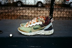 React (Cameron Oates [IG: ccameronoates]) Tags: 35mm film react element 87 nike sportswear undercover sneakers hypebeast