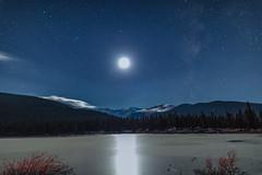 Echo Lake (pboolkah) Tags: canon5d canon5dmkiv canon echolake lake stars night clouds moon astro colorado soe