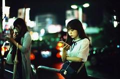 """Reading"" (jaxting) Tags: jaxting alacarte leicamp street people candid 東京 tokyo provia400x reversalfilm filmisnotdead istillshootfilm noctilux leica"