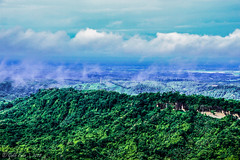 Bandarban, Chittagong, Bangladesh. (Galib Emon) Tags: hilltracts bandarban chittagong bangladesh nature beautiful canon outdoor landscape sky blue green mist travel hillside wonderful canoneos7d galibemon asia colors explore explorebangladesh image photograph landscapephotography flickr nilachal