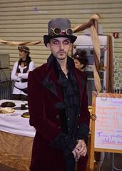 V Feria Steampunk Barcelona (Cíclope0) Tags: feria steampunk barcelona cosplay costume disfraz sombrero hat