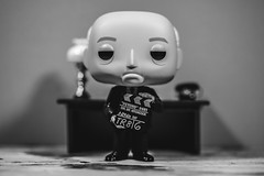 Revenge is sweet and not fattening. (3rd-Rate Photography) Tags: alfredhitchcock funko director horror suspence blackandwhite bw toy toyphotography funkopop canon 100mm 5dmarkiii jacksonville florida 3rdratephotography earlware 365