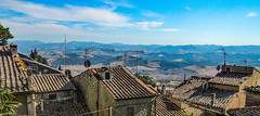 Italy... above the roofs of Volterra (marek&anna) Tags: italy volterra roofs
