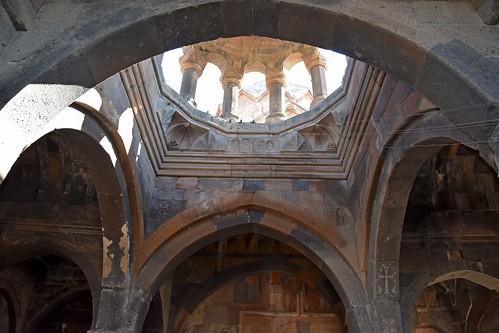 Hovhanavank Monastery, XIII century. Hovanavan, Armenia.
