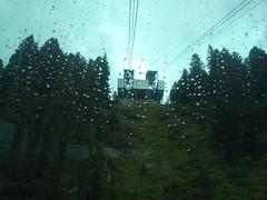 441 funivia catinaccio trentino alto  adige maltempo (ERREGI 1958) Tags: pioggia rain funivia catinaccio seilbahn panorama stazione fassa val dolomiti alpi