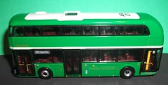 Arriva London LT2 in country area green 1/64th scale. (Ledlon89) Tags: tiny uk4 diecastbus modelbusesandcoaches nbfl routemaster borisbus wrightbus arrivalondon lt2 greenbus countryarealivery bus london transport londonbus londonbuses tfl