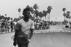 L.A vibes (EmmaDauv) Tags: blackandwhite bnw street streetphoto skate losangeles los angeles beach venicebeach