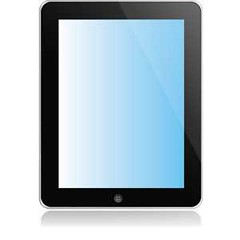 Free vector ipad (cgvector) Tags: apple black communication computer device digital display equipment front ipad pc screen tablet technology touch white