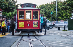 powell and market 25 (pbo31) Tags: sanfrancisco california nikon d810 color september fall 2018 boury pbo31 cablecar muni tourist taylorstreet northbeach littleitaly transit red 25