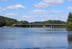 Bridge over Gatineau River (pegase1972) Tags: outaouais qc québec quebec canada pont bridge river rivière