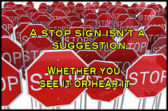 stop signs meme (rjk9601) Tags: stop thoughts memes see hear humor signs suggestion funny