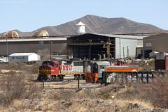 The BNSF El Paso Roadswitcher at Vinton, Texas (Travis Berryman) Tags: elpasosub atsf elpaso westtexas desertrailroading