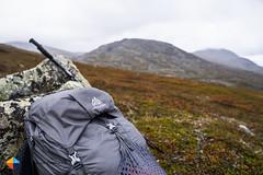 Content stays dry - also with a raincover! (HendrikMorkel) Tags: sweden vålådalen åre gregoryoptic48 lightweightbackpack backpacking backpack gregory optic48backpack