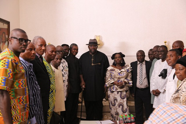 Condolence visit by Redeem group